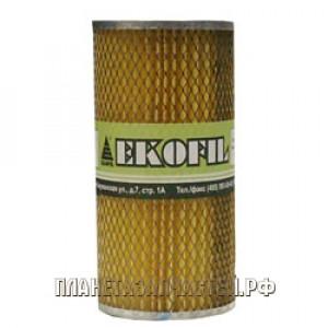 Фильтр масляный (элемент) КАМАЗ метал.обечайка EKOFIL