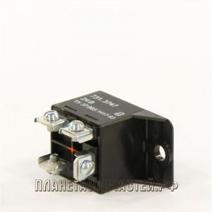 Реле электромагнитное 4-х контакт.24V с кронштейном АВАР