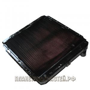 Радиатор охлаждения КАМАЗ-54115 медный 4-хрядный ЛРЗ