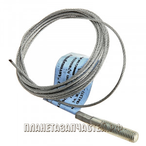 Трос акселератора МАЗ-54321 голый L=2250 мм