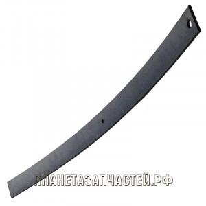 Лист рессоры МАЗ-500 передней №1 L=1642мм ЧМЗ