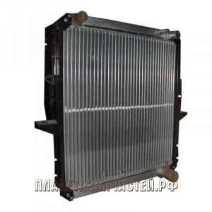 Радиатор охлаждения МАЗ-5551 медный 3-х рядный ШААЗ