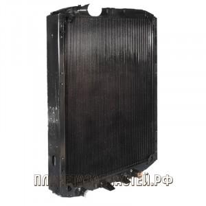 Радиатор охлаждения МАЗ-54342, 642208 дв.ЯМЗ-7511 медный 3-х рядный ШААЗ Купробрейз