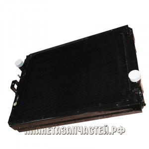 Радиатор охлаждения КАМАЗ-65115-117 медный 3-х ряд.Купробрейз ШААЗ