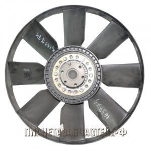 Вентилятор КАМАЗ-ЕВРО 600мм с вязкостной муфтой и обейчаткой СБ дв.CUMMINS до 2009г BORG WARNER