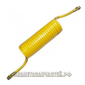 Шланг соединительный прицепа воздуховод М22х1.5/M22х1.5 L-5.5м желтый PE СТАНДАРТ