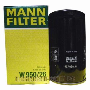 Фильтр масляный КАМАЗ-4308, ПАЗ-3204 дв.CUMMINS MANN