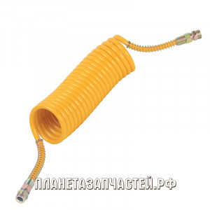 Шланг соединительный прицепа воздуховод М22х1.5/M22х1.5 L-6.5м желтый СТАНДАРТ