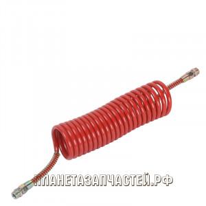 Шланг соединительный прицепа воздуховод М22х1.5/M22х1.5 L-6.5м красный СТАНДАРТ