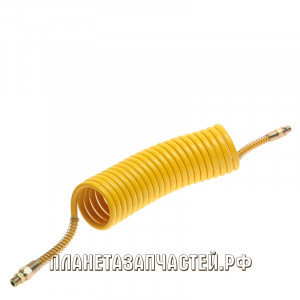 Шланг соединительный прицепа воздуховод М16х1.5/M16х1.5 L-6.5м желтый PE СТАНДАРТ