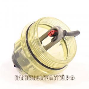 Крышка КАМАЗ-ЕВРО топливного фильтра ГО отстойник с подогревом для PL-270/420