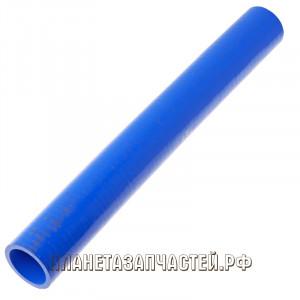 Патрубок МАЗ радиатора подводящий верхний длинный силикон L=420мм d=42мм