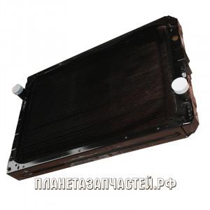 Радиатор охлаждения КАМАЗ-63501 медный 3-х рядный Купробрейз ШААЗ