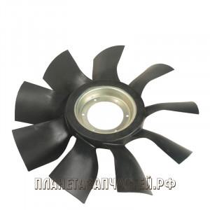 Вентилятор КАМАЗ-ЕВРО 640мм с выгнутым диском дв.CUMMINS ISBe185-300 ТЕХНОТРОН